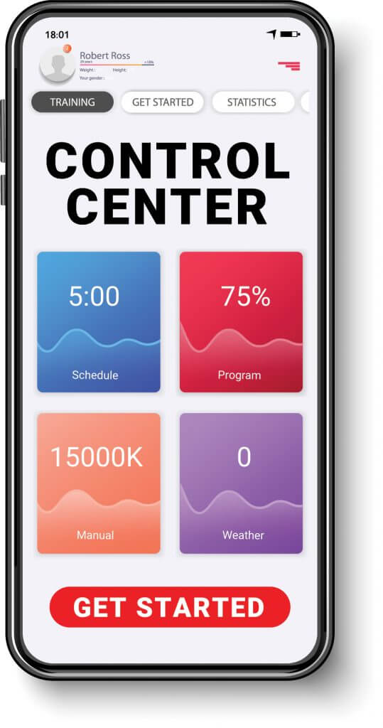 Control Center on Phone